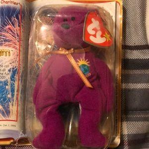 "RARE! TY McDonalds. ""2000 The MiLLENNIUM Bear??"